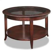 Chocolate Bronze Round Coffee Table #10037