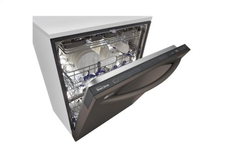 ***DISPLAY MODEL CLOSEOUT*** LG Black Stainless Steel Series Top Control Dishwasher with EasyRack Plus