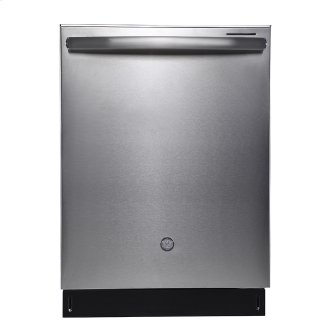 """GE Profile 24"""" Built-In Stainless Steel Tall Tub Dishwasher Stainless Steel - PBT660SSLSS"""