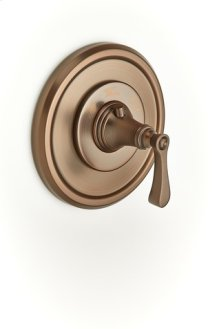 Berea Thermostatic Valve Trim - Bronze