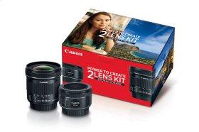 Canon Portrait & Travel 2 Lens Kit Lens Bundle
