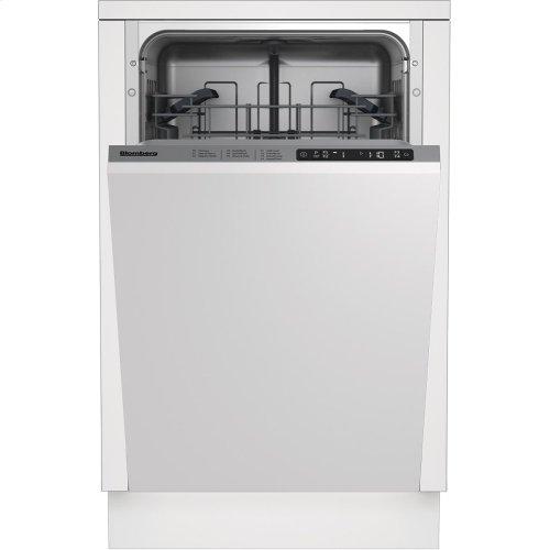 "18"" ADA Tub,top control, 5 cycle, full integrated panel overlay, 48dBA"