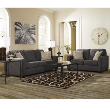 Signature Design by Ashley Alenya Living Room Set in Charcoal Microfiber [FSD-1669SET-CH-GG]