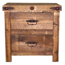 Reclaimed Look Night Stand