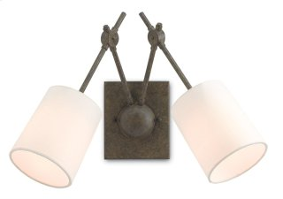 Compass Wall Sconce - 15h x 17w x 12d