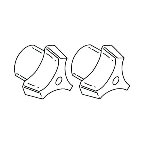 Commercial tri-blade replacement handles,quantity 2