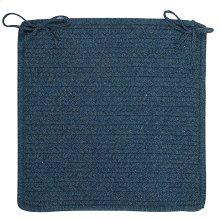 "Westminster Chair Pad WM50 Federal Blue 15"" X 15"" (Set 4)"
