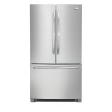 Frigidaire Gallery 27.8 Cu. Ft. French Door Refrigerator (This is a Stock Photo, actual unit (s) appearance may contain cosmetic blemishes. Please call store if you would like actual pictures). This unit carries our 6 month warranty, MANUFACTURER WARRANTY and REBATE NOT VALID with this item. ISI 33384