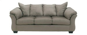 Ashley Sofa & Love Seat Package - Darcy - Cobblestone
