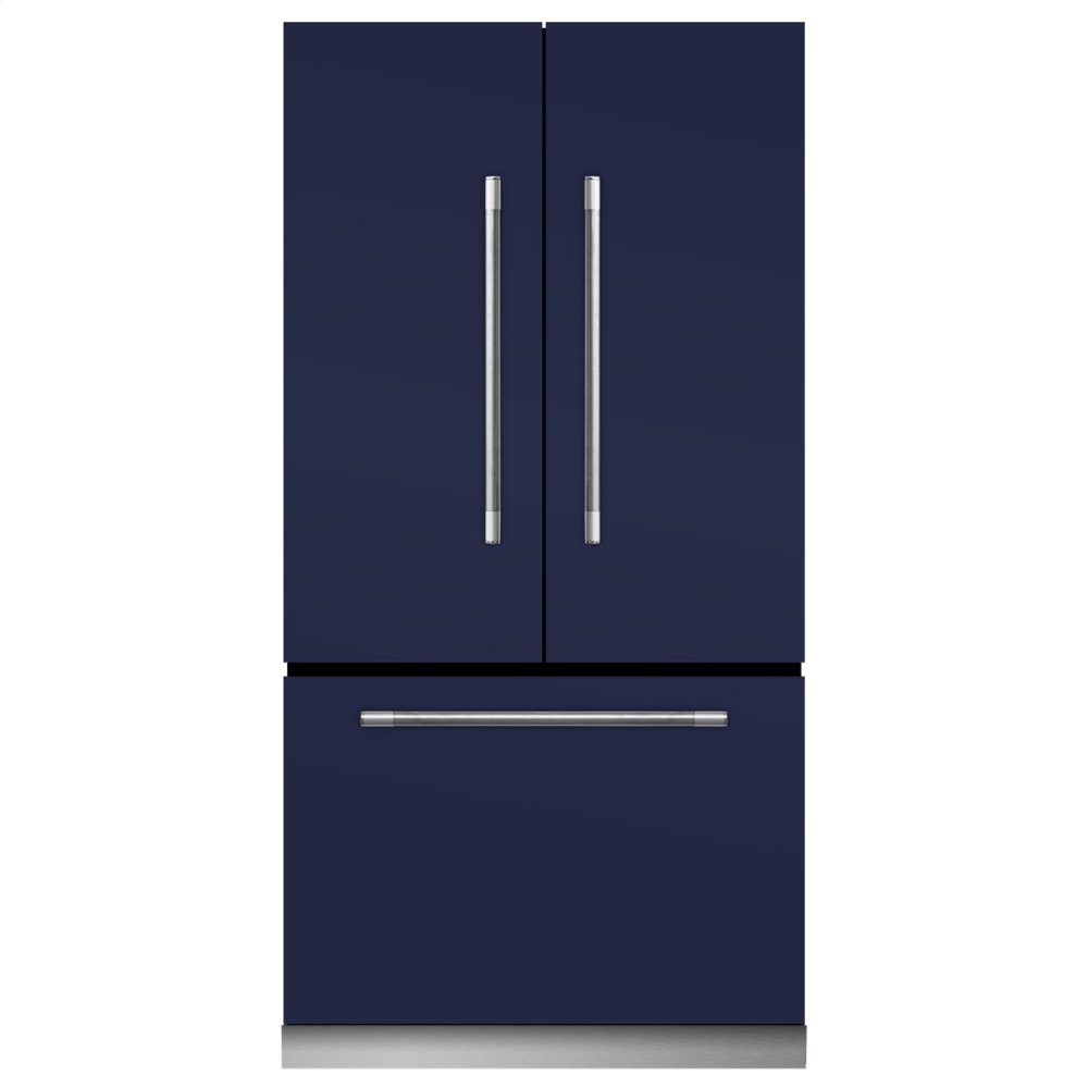 AGAMatte Black Mercury French Door Refrigerator