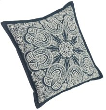 """Luxe Pillows Snowflake Embroidery (20"""" x 20"""")"""