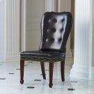 Charleston Chair-Java with Walnut Finish Legs Product Image