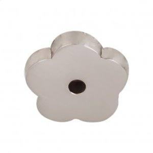 Aspen II Flower Backplate 1 Inch - Brushed Satin Nickel
