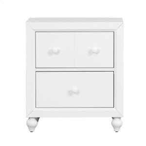 Cottage View White Youth Nightstand