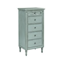 French Blue Cameo Demi-Chest