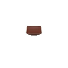 Scalloped Square Medm Savile In Chestnut