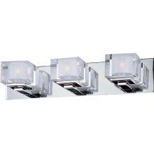 Cubic 3-Light Bath Vanity
