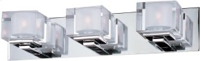 Cubic 3-Light Bath Vanity