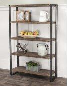Dawn-reclaimd Oak/blk Bookcase Product Image