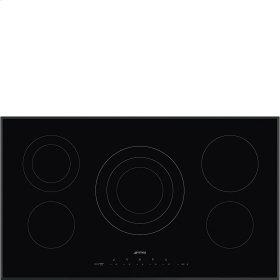 "90CM (36"") Ceramic Cooktop Black Glass"