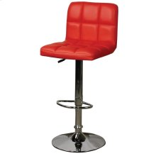 Jett Quilted Gaslift Bar Stool, Red***CLOSEOUT***