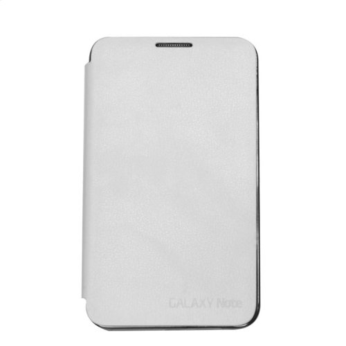 Flip Cover Case, White