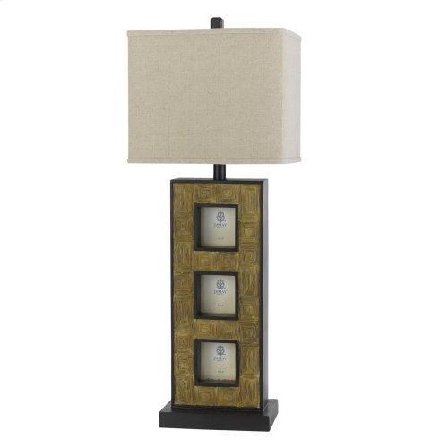 100W Resin Bufet Lamp W/Pictures