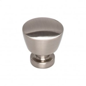 Allendale Knob 1 1/8 Inch - Brushed Satin Nickel