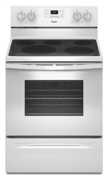 5.3 Cu. Ft. Freestanding Electric Range with High-Heat Self-Cleaning System