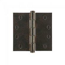 """Plain Bearing Extruded Hinge - 4"""" x 4"""" Silicon Bronze Brushed"""