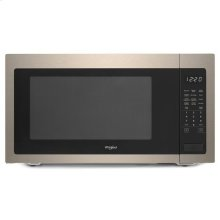 Whirlpool® 2.2 cu. ft. Countertop Microwave with Fingerprint-Resistant Color Options - Sunset Bronze