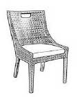 CENTER MATCHED SIDE CHAIR