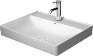 Durasquare Above-counter Basin 3 Faucet Holes Punched