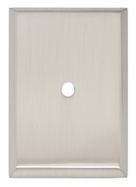 Traditional Backplate A610-45 - Satin Nickel