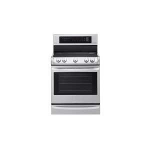 LG Appliances6.3 cu. ft Electric Single Oven Range with ProBake Convection(R) and EasyClean(R)
