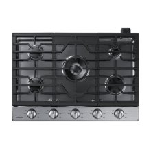 """30"""" Gas Cooktop with 19K BTU Dual Burner, NA30N6555TS/AA (Stainless)"""