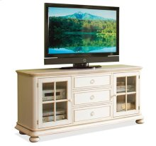 Placid Cove 72-Inch TV Console Honeysuckle White finish