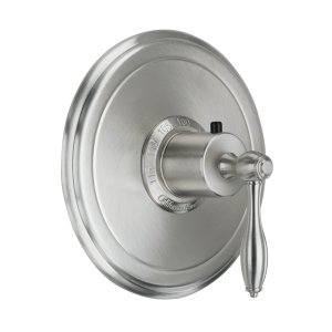 "Mendocino Styletherm (R) 3/4"" Thermostatic Trim Only - Stainless Steel"