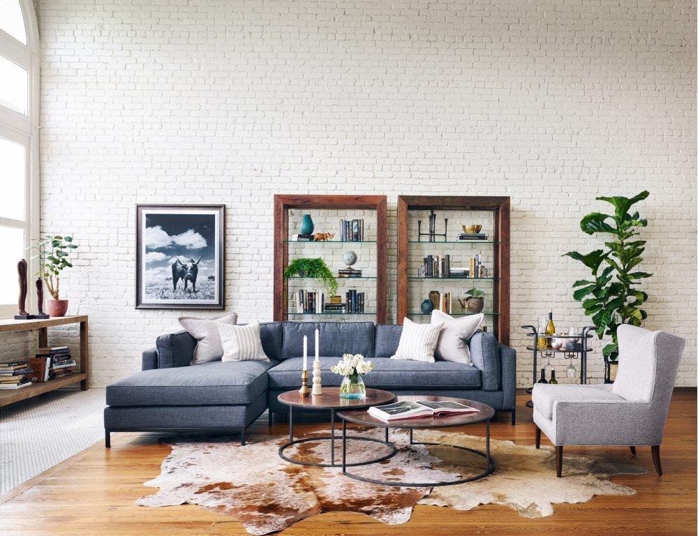 Icon Furniture Art Four Hands Left Chaise Configuration