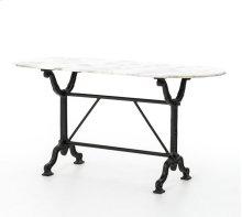 Black Finish Ava Writing Table