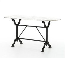 Black Finish Ava Writing Table