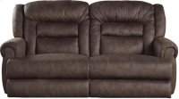 """""""Extra Tall"""" Wall Reclining Console Loveseat w/Stor & Cuphol - Sable Product Image"""