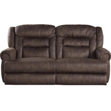 """Extra Tall"" Reclining Sofa - Sable"