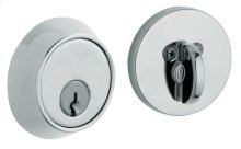 Polished Chrome Contemporary Deadbolt