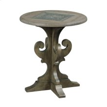 Greyson Warrick Round End Table