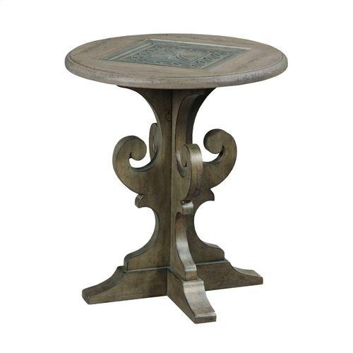 Greyson Warrick Round End Table