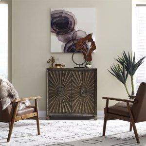 Liberty Furniture Industries2 Door Wine Accent Cabinet
