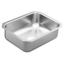 2000 Series 23.5 x 18.25 stainless steel 20 gauge single bowl sink