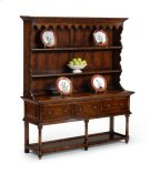 Country Walnut Open Welsh Dresser Product Image