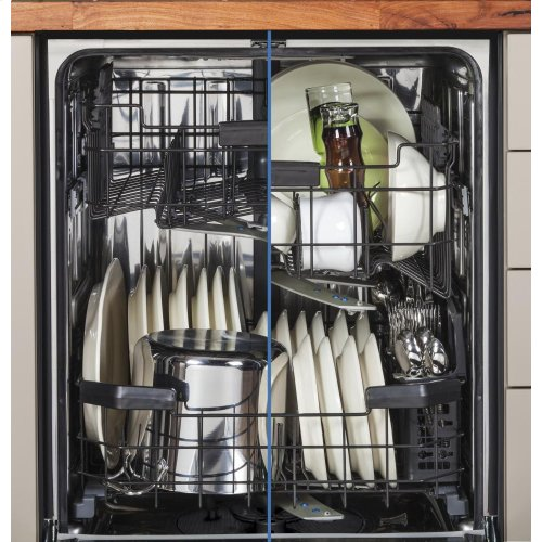 GE Profile Series Stainless Steel Interior Dishwasher with Hidden Controls
